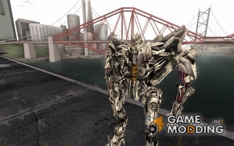 Starscream Skin from Transformers v2 for GTA San Andreas