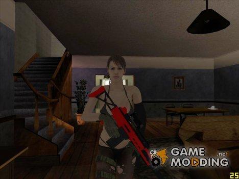 Skin HD Quiet (MGSV) для GTA San Andreas