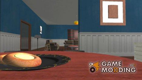 Интерьер дома Santa Maria Beach в HD для GTA San Andreas