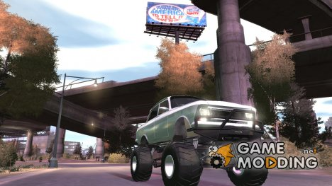 Moskvich-412 Monster для GTA 4