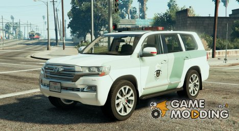 Toyota Land Cruiser Saudi Traffic Police для GTA 5