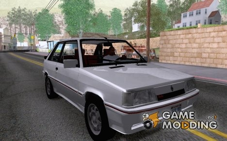 Renault 11 Turbo2 Coupe 1988 для GTA San Andreas