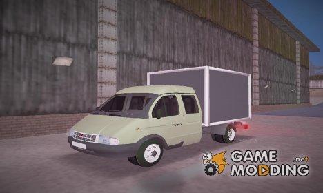 """ГАЗель 33023 """"Фермер"""" for GTA 3"""