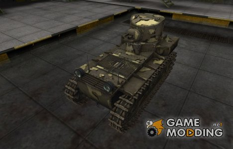 Простой скин T1 Cunningham for World of Tanks