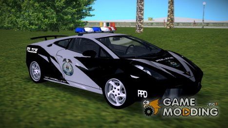 Lamborghini Gallardo - XiON Patrol for GTA Vice City