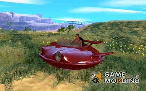 Летающее блюдце Peepser для GTA San Andreas