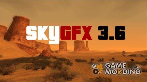SkyGFX 3.6 for GTA San Andreas