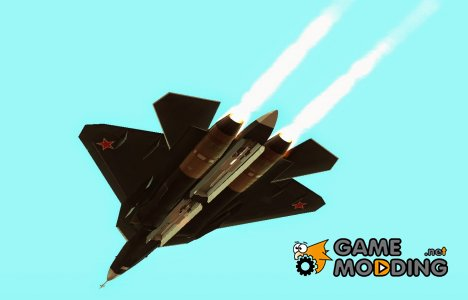 Su T-50 Pak Fa From BF4 for GTA San Andreas
