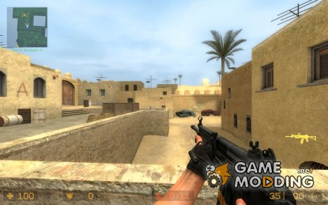 Modderfreak's SG552 Galil Skin for Counter-Strike Source