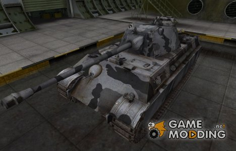 Шкурка для немецкого танка Panther II для World of Tanks
