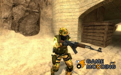 Australian Soldier для Counter-Strike Source