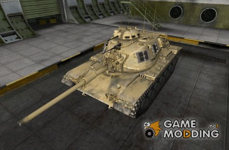 Ремодель M48A1 for World of Tanks