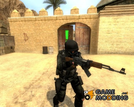 Sebi90´s Helghast Troopah for Counter-Strike Source