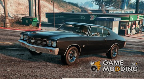 1970 Chevrolet Chevelle SS for GTA 5