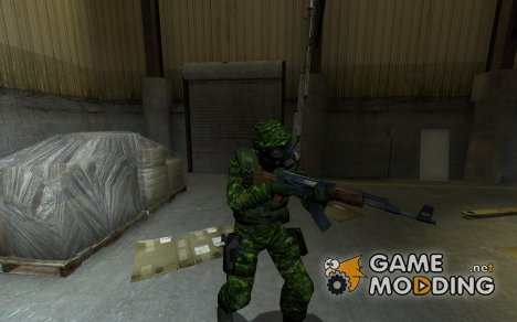 Woodland SAS для Counter-Strike Source