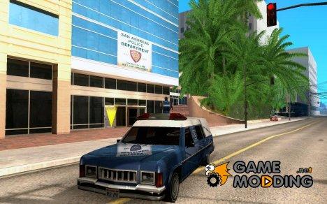Пожарный Romero for GTA San Andreas