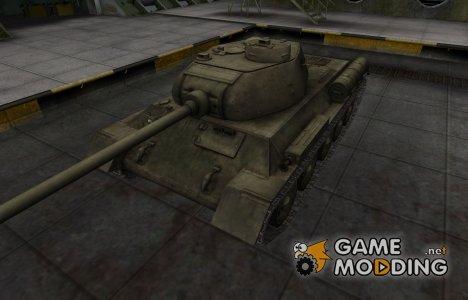 Шкурка для китайского танка T-34-1 for World of Tanks