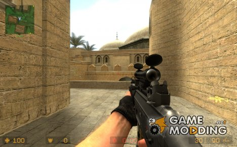 Tron Sg552 для Counter-Strike Source