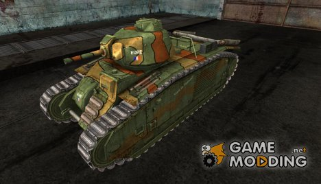 Шкурка для PzKpfw B2 740(f) for World of Tanks