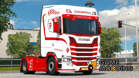 Gangster для Scania S580 for Euro Truck Simulator 2