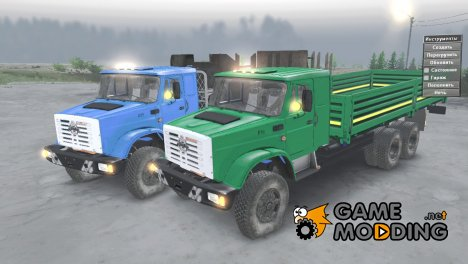 ЗиЛ 433440 «Euro» for Spintires 2014