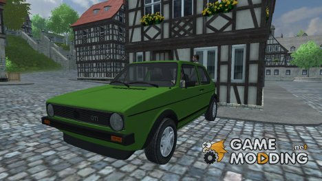 Volkswagen Golf I v 1 for Farming Simulator 2013