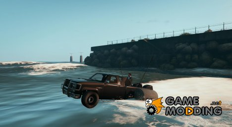 Amphibious Car (Top Gear) v1.0 для GTA 5