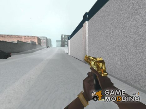 Пак золотого оружия for GTA San Andreas