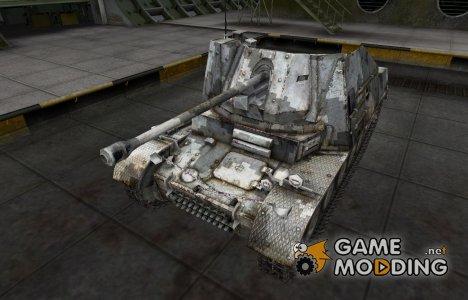Камуфлированный скин для Marder II для World of Tanks