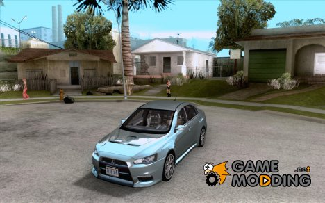 Mitsubishi Evolution X Stock-Tunable для GTA San Andreas