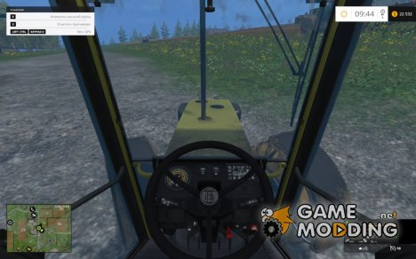 Drive control v.3.91 for Farming Simulator 2015