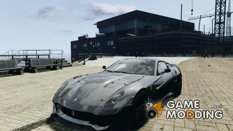 Ferrari 599xx для GTA 4