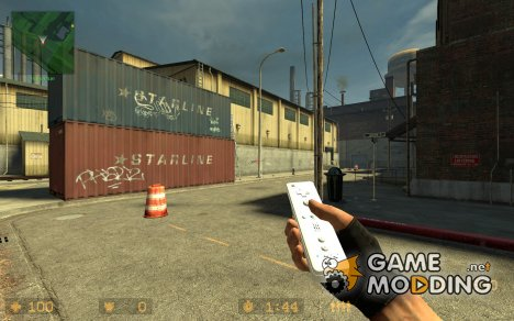 Nintendo Wiimote for Counter-Strike Source