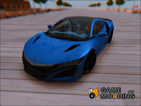 Acura NSX 2016 for GTA San Andreas