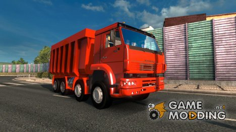 Kamaz Monster 8×8 V1.0 for Euro Truck Simulator 2