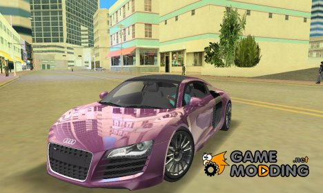 "Audi R8 V10 ""TT Black Revel"" for GTA Vice City"