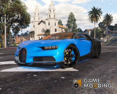 2017 Bugatti Chiron (Retextured) 3.0 for GTA 5