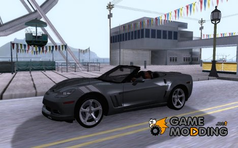Chevrolet Corvette C6 Convertible 2010 for GTA San Andreas