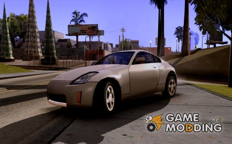 Nissan 350z в стиле SA for GTA San Andreas