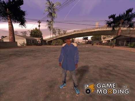 Зимняя куртка v2 для GTA San Andreas