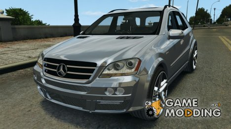 Mercedes-Benz ML63 AMG Brabus для GTA 4