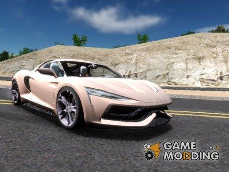 2016 Genesi Model 5 Concept for GTA San Andreas