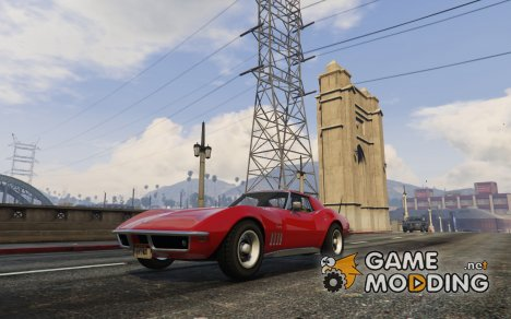 Chevrolet Corvette Stingray 1968 для GTA 5