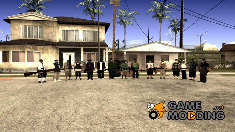 Ghetto Pack for GTA San Andreas