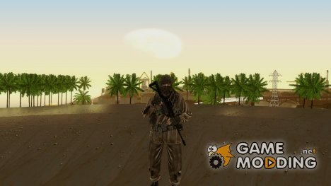 Солдат ВДВ (CoD MW2) v6 for GTA San Andreas