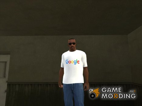 Футболка Google для GTA San Andreas