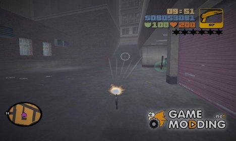 Невидимый Клод for GTA 3