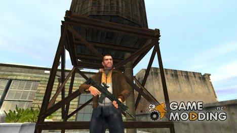 Автоматическая винтовка SIG SG 751 v.1 for GTA 4