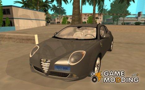 Alfa Romeo MiTo Quadrifoglio Verde для GTA San Andreas