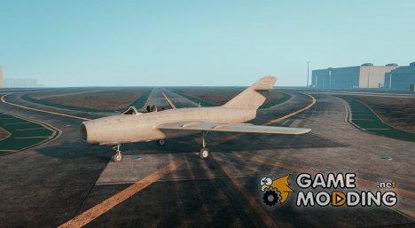 MiG-15 v0.01 для GTA 5